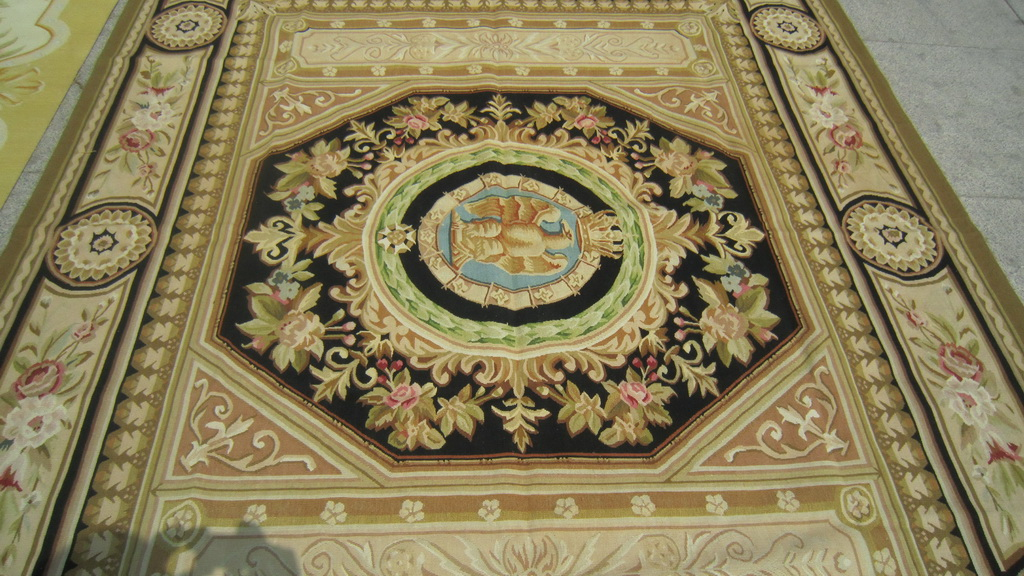 French Aubusson Rugs Wool Aubusson Rug