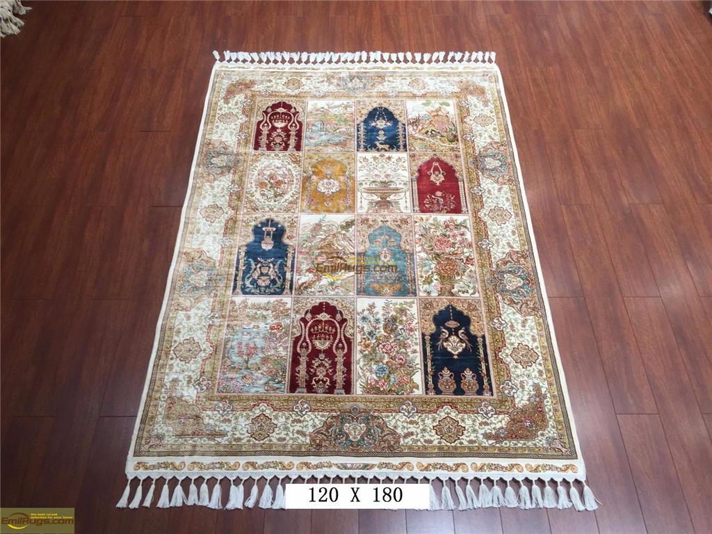 4x6 silk rugs1