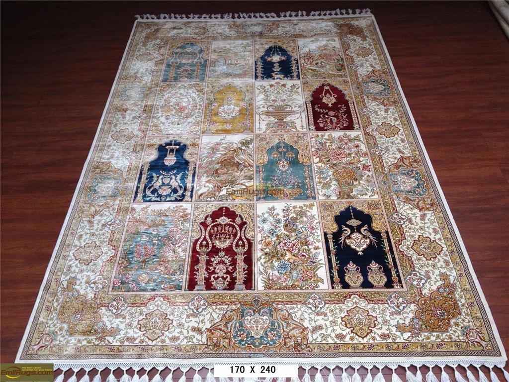 5.5x8 silk rugs9