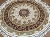 silk rugs round1