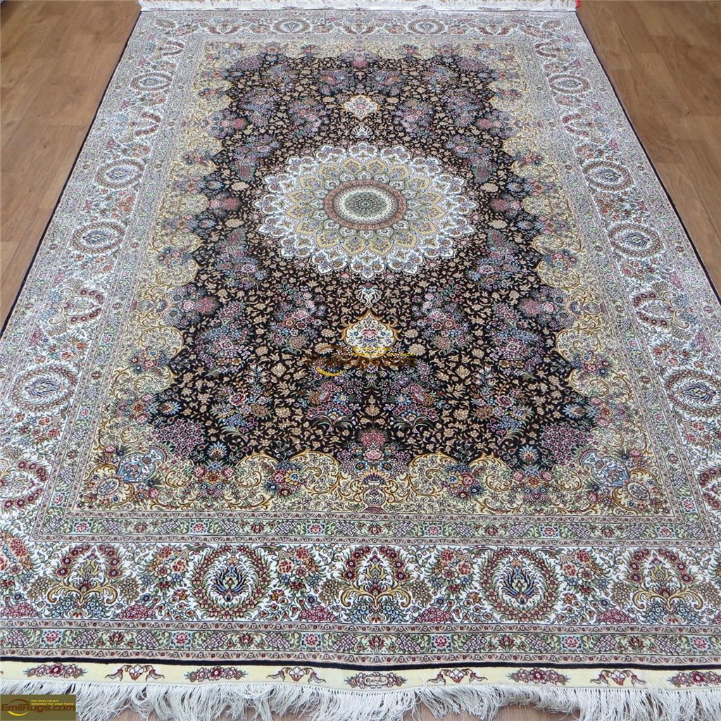 silk rugs 6x912