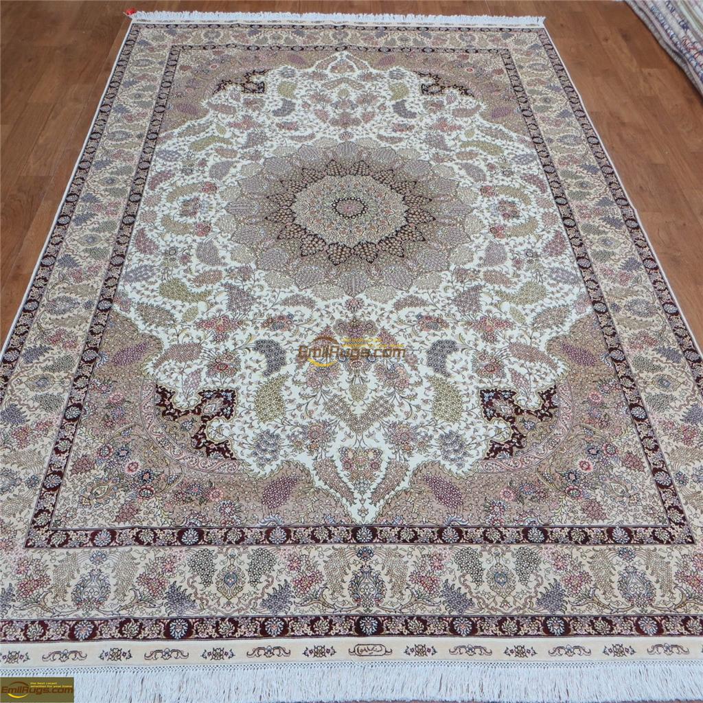 silk rugs 6x915