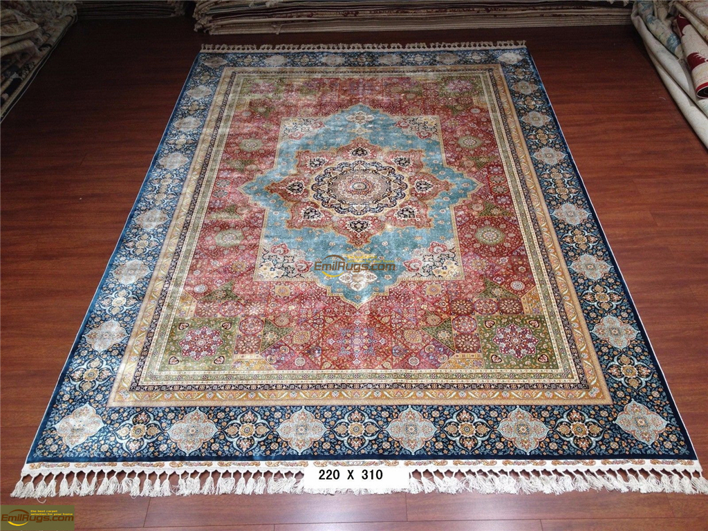 silk rugs 6x916