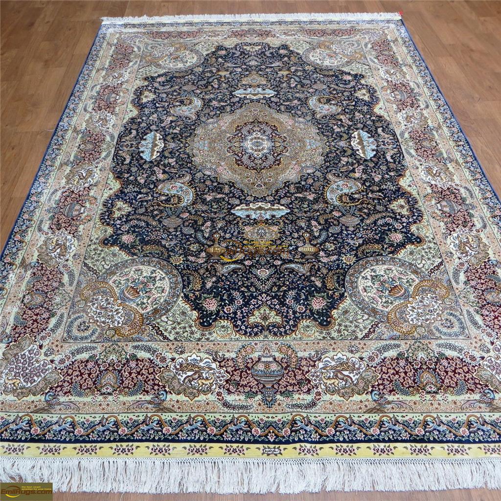 silk rugs 6x921