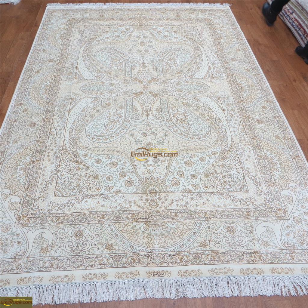 silk rugs 6x924