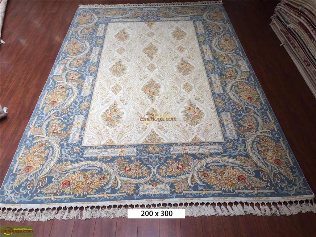 silk rugs 6x97