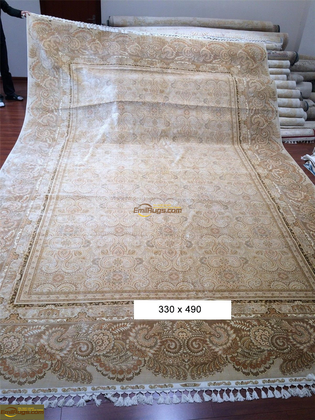 silk rugs large size2